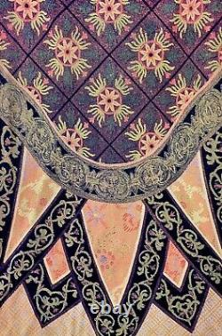 VIVIENNE TAM 90s Vintage Trompe LOeil Tapestry Skirt M
