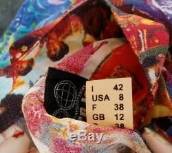 VTG JEAN-PAUL GAULTIER RED CHINESE BABIES PROPAGANDA PRINT Maxi Skirt JPG 8 M
