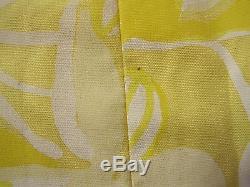 Vintage 1960's Lilly Pulitzer Maxi Long Yellow Skirt EUC 14 16