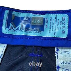 Vintage 90s MACGIRL MACGEAR Cyber Goth Long Maxi Skirt PVC Caffeine Rave MEDIUM
