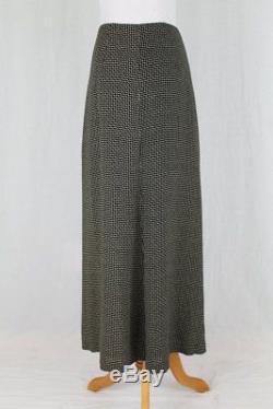 Vintage DKNY Donna Karan Long Edwardian Inspired Maxi Skirt Size 4