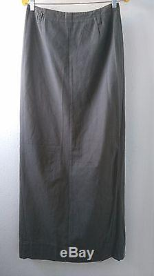 Vintage Martin Margiela S/s1992 Collection Designers Green Maxi Skirt S44(us10)