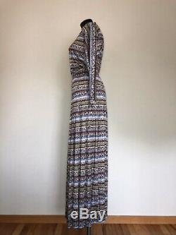 Vintage Missoni Couture 2pc Silk Maxi Skirt & Long Sleeve Top 8 M / L ($1895)