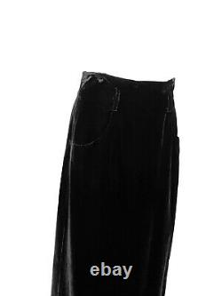 Vintage Velvet Chanel Maxi Skirt