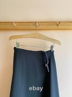 Vintage Y's YOHJI YAMAMOTO cotton suiting dress skirt maxi bias cut IF SOHO 2 S