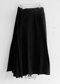 Vintage Yohji Yamamoto SS03 Black & White Layered Super Full Maxi Skirt Sz2/S-M