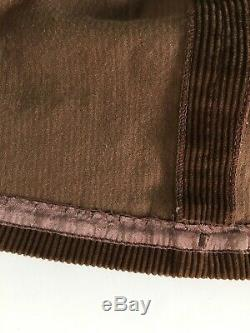 Vtg Ralph Lauren Equestrian Prairie Hippie Corduroy Full Maxi Skirt 4 USA Made