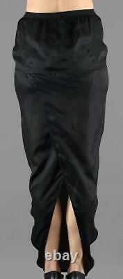 WOW! New Tags Rick Owens Babel Soft Pillar skirt black size 40 US 4 $590