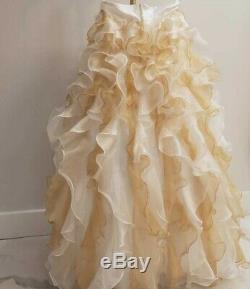 Wedding long Skirt Gown