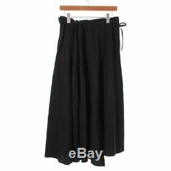 YOHJI YAMAMOTO NOIR Skirts 252066 Black 1