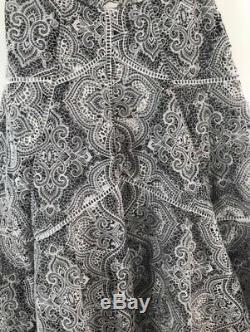 Zimmermann Empire Embroidered Skirt Size 1