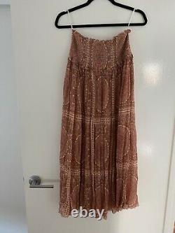 Zimmermann Primrose Crinkle Skirt Size 2