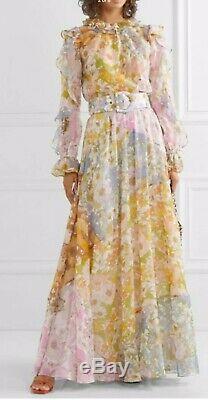 Zimmermann Super Eight Floral Maxi Skirt Size 3