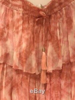 Zimmermann Winsome Tier TieDye Skirt Size 1